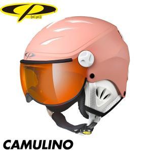 シーピー カムリーノ CP CAMURINO スキー スノボ スノーボード バイザー ヘルメット ベンチレーション プロテクター ジュニア 子供|boomsports-ec