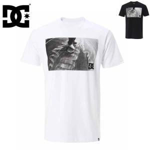スーパーSALE対抗 ディーシーシューズ テックコンクリートクルーTシャツ ティーシャツ DC SHOES 16 TECH CONCRETE CRU WHT/BLK 5226J603 メンズ 男性用 半袖 Tee|boomsports-ec