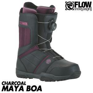17-18 フロー スノーボード マヤ ボア ブーツ 靴 FLOW SNOWBOARDS MAYA BOA レディース 女性用 2018 boomsports-ec