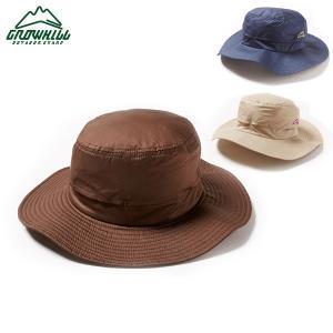 グローヒル アウトドアハット GROWHILL OUTDOOR HAT GH-001 NAVY/BEIGE/BROWN S/M M/L ユニセックス レディース メンズ 男女共用 登山 帽子 アウトドア|boomsports-ec