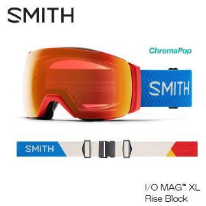 20 スミス アイ/オー マグ エックスエル アジアンフィット SMITH I/O MAG XL RISE BLO スキー スノーボード ゴーグル 送料無料 boomsports-ec