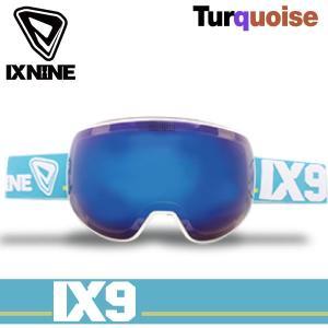 17-18 アイエックスナイン アイエックス4 ゴーグル IXNINE IX4 turquoise スキー スノーボード 球面レンズ 日本上陸 IX9 boomsports-ec