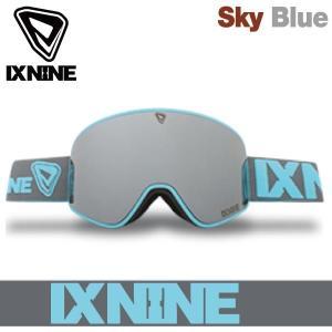 17-18 アイエックスナイン アイエックス3 ゴーグル IXNINE IX3 Sky Blue スキー スノーボード 平面レンズ 日本上陸 IX9 boomsports-ec