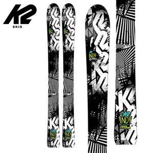 ケーツー インディー ジュニアスキー K2 INDY 100cm キッズ 子供用 アルペン ロッカー 板のみ|boomsports-ec