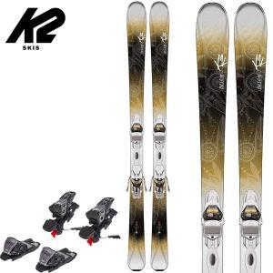 15-16 ケーツー ビーラブド 78 ティーアイ スキーセット K2 beluved 78 Ti 149cm レディース スキー 2点セット 女性用 ビンディング付|boomsports-ec