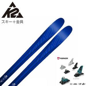 K2 スキー板 ケーツー PINNACLE 88 184cm + MARKER SQUIRE 11 ID 90mm スキーセット フリーライド バイン付き 送料無料|boomsports-ec