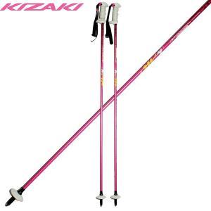キザキ プロシードカーボン スキーポール ストック KIZAKI KPAA-9100 PK 105cm/110cm/115cm 軽量|boomsports-ec