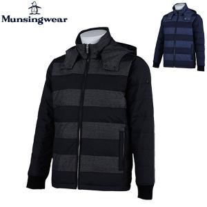 マンシングウェア ダウンジャケット Munsingwear SG6343 ブルゾン フード付 メンズ 男性用 2015 boomsports-ec