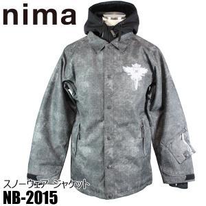 ニマ メンズ スノボ ジャケット スノーボード スキー スノーウェア nima NB-2015 19P M/L 男性用|boomsports-ec