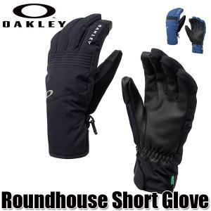18-19 オークリー スキーグローブ ラウンドハウスショート OAKLEY Roundhouse Short Glove Dark Blue/Black out/Camo メンズ スキー 手袋 boomsports-ec
