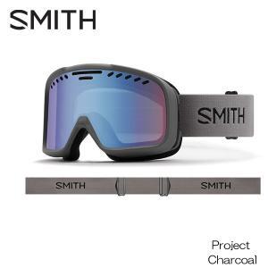 19-20 スミス ゴーグル SMITH [ Project ] Charcoal スノーボード ス...