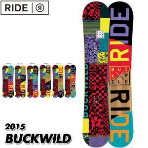 14-15 ライド バックワイルド RIDE BUCKWILD 159cm メンズ 男性用 日本正規品 2015|boomsports-ec