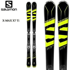 18 サロモン スキー板 エックス マックス  SALOMON X-MAX X7 Ti + MERCURY11 メンズ デモ スキーセット ビンディング付 2点セット 日本正規品