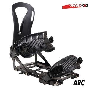 17-18 スパークアール&ディ Spark R&D ARC Black アーク ビンディング バックカントリー スキー スノーボード スプリット パウダー|boomsports-ec