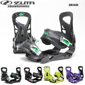 スノーボード ビンディング ZUMA ZM3400 メンズ スノボ バイン サイズXL 送料無料 お買い得品