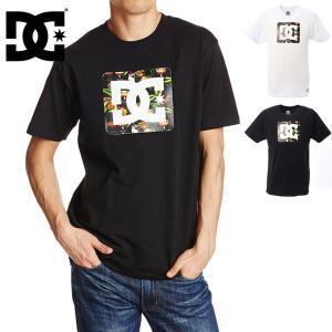 スーパーSALE対抗 DC ディーシー 15 Square Star SS Tee Tシャツ メンズ 男性用 M/L/XL 半袖 BLF/WHF 5120J045|boomsports-ec