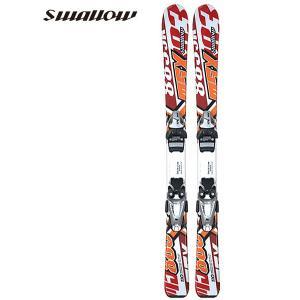 スワロー エムエスエックス SWALLOW MSX-883 子供用 ジュニア スキー セット ビンディング付 2点セット 板 red レッド|boomsports-ec