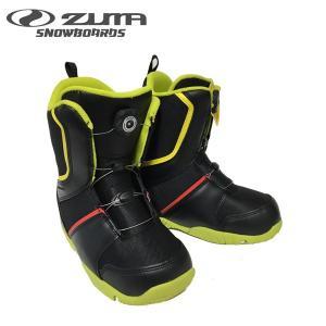 ヅマ ジュニアスノーボードブーツ エートップ ZUMA YOUTH atop-J BOA キッズ 子供用 ダイヤル式 スノボブーツ サイズ調整可能 boomsports-ec