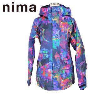 ニマ レディースボードジャケット スノーウェア nima NB-1018 39P S/M ウィメンズ 女性用 スキー スノボ|boomsports-ec