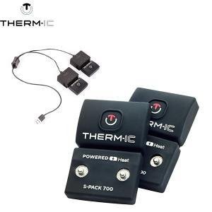 サーミック S バッテリーパック70 ヒートソックス用 therm-icPOWER SOCKS BATTERIES 充電 ヒートテック 靴下 boomsports-ec