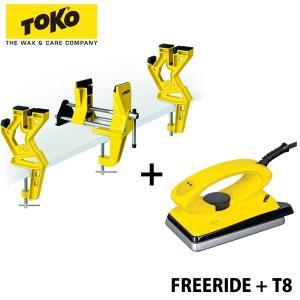 スーパーSALE対抗 トコ スキー バイス ファットスキー対応 ワックスシング アイロンセット TO...