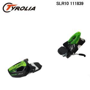 チロリア エスエルアール10 Tyrolia SLR 10 SuperLite- Rail 111839 BLK/GRN スキービンディング 金具 単品 日本正規品