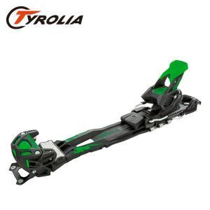 チロリア アドレナリン13 Tyrolia Adrenalin 13 Short Black/Green 110mm/130mm 111808 スキービンディング 金具 単品 日本正規品|boomsports-ec