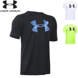 アンダーアーマー テックTシャツ ビッグロゴ 1228803 UNDER ARMOUR UA TECH BIG LOGO SS ジュニア キッズ 子供用|boomsports-ec