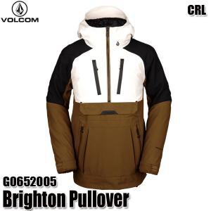 予約商品 19-20 ボルコム ブライトン プルオーバー ジャケット Volcom Brighton Pullover G0652005 CRL スノーウェア メンズ 男性用 2020