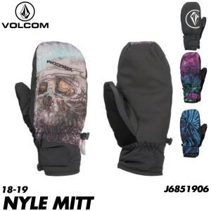 18-19 ボルコム ナイル ミット グローブ Volcom NYLE MITT J6851906 MLT/BTD/MIX/BLK メンズ スノーボード グローブ ミトン 日本正規品 boomsports-ec