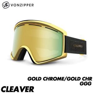 17-18 ボンジッパー ゴーグル クリーバー ジャパンフィット VONZIPPER CLEAVER GOLD CHROME/GOLD CHR GGG 2018 国内正規品 AH21M-713 boomsports-ec