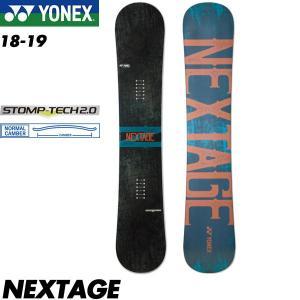 予約商品 18-19 ヨネックス ネクステージ YONEX NESTAGE スノーボード スノボ 板 メンズ 男性用 2019 オルテライン ノーマルキャンバー|boomsports-ec