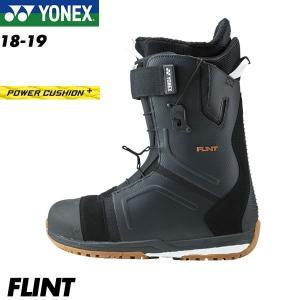 予約商品 18-19 ヨネックス フリント ブーツ YONEX FLINT BLACK スノーボード スノボ メンズ 男性用 2019 boomsports-ec