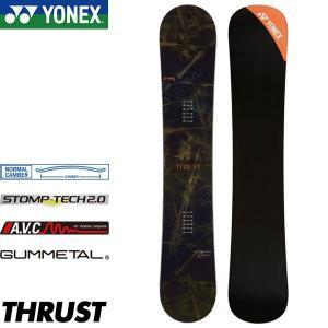 17-18 ヨネックス スラスト YONEX THRUST TH17 スノーボード 板 ノーマルキャンバー カービング テクニカル 国産ボード|boomsports-ec