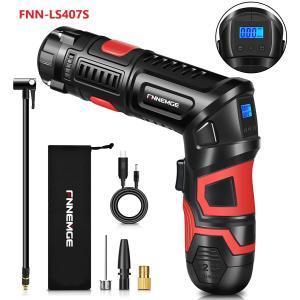 電動エアコンプレッサー USB充電式コードレス 電動エアーポンプ 自動車タイヤ空気入れ 60s快速充...
