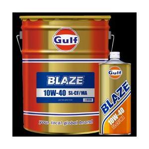 ガルフ[ Gulf ] エンジンオイル ブレイズ 10W-40 1L X 20本 鉱物油