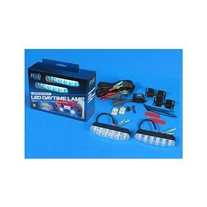 VELIAS 市光工業 LEDデイタイムランプ タイプIXキットホワイト12V|bootspot