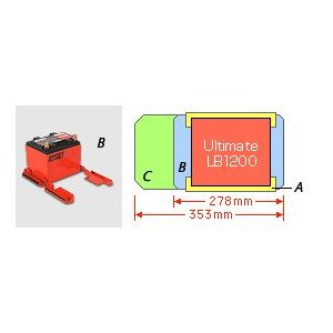 ODYSSEY(オデッセイ) オプションパーツ アタッチメント LB1200用 W278 A12-02J bootspot