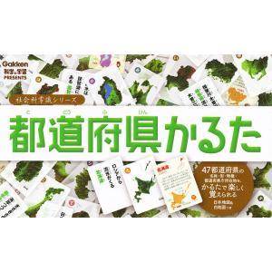 日曜はクーポン有/ 都道府県かるた Gakken科学と学習PRESENTS