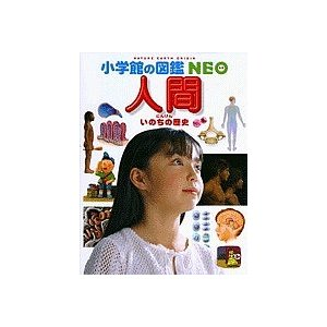 【学習図鑑クーポン対象】小学館の図鑑NEO 13 人間 いのちの歴史