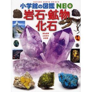 【学習図鑑クーポン対象】小学館の図鑑NEO 18 岩石・鉱物・化石