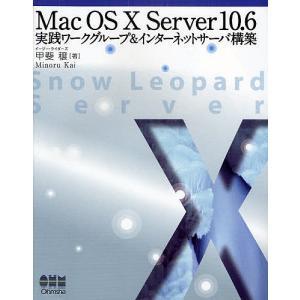 Mac OS X Server 10.6実践ワークグループ&インターネットサーバ構築/甲斐穣