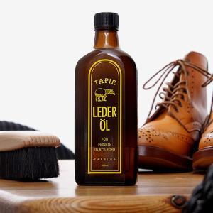 タピール レーダーオイル(汚れを落として栄養も与える、タピールの定番品。汚れ落とし・保革)