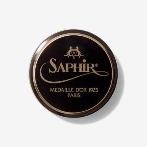 サフィール ノワール ビーズワックスポリッシュ 50ml(ハイシャイン 鏡面磨き用 油性ワックス)