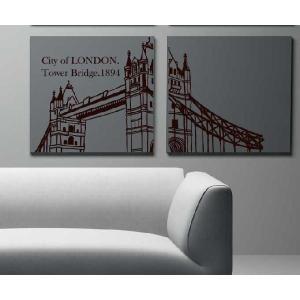 ウォールステッカー 転写式タイプ ロンドンの都市|bora|05