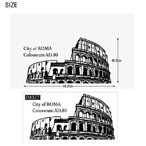ウォールステッカー 転写式タイプ ローマの都市|bora|03