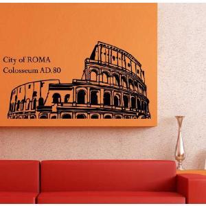 ウォールステッカー 転写式タイプ ローマの都市|bora|06