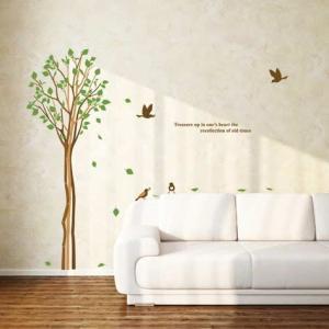 ウォールステッカー 木 花 シール|bora