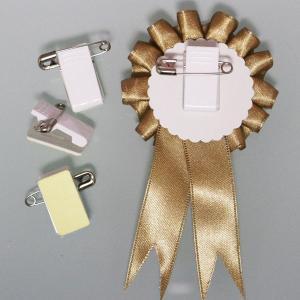 ロゼット用資材 クリップ付きピンの商品画像