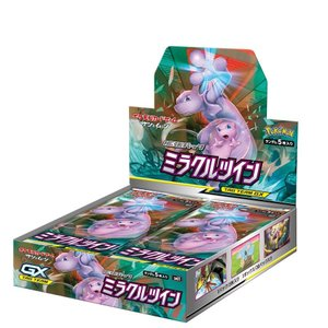 新品 5月下旬発売 予約 ポケモンカードゲーム サン&ムーン 拡張パック ミラクルツイン BOX ポケモン ポケカ